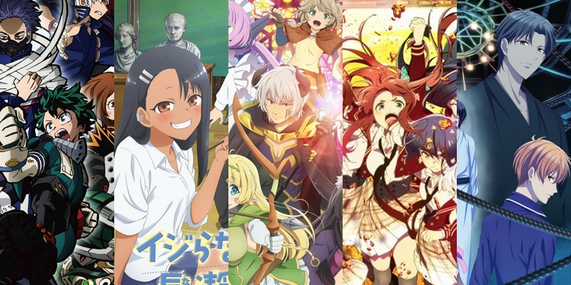 Complete spring 2021 anime season schedule