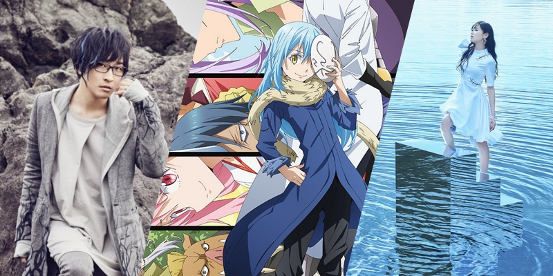 That time I got reincarnated as a slime season 1 OP1, season 1 OP2, season 2 OP1